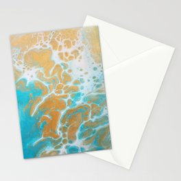 Ocean Marble Stationery Cards