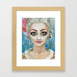 Marie Antoinette Faerie Framed Art Print