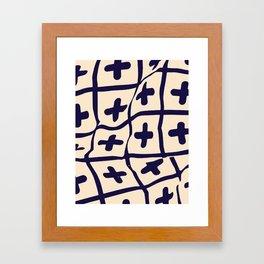 Breathe Little Pool Framed Art Print