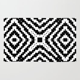 Abstract Pixels by Kimberly J Graphics Rug