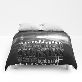 The NY Subway Comforters