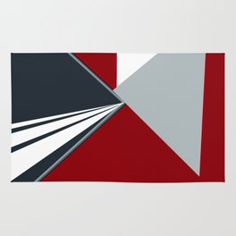 TRIANGULATION Red Rug