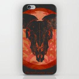Ram Skull iPhone Skin