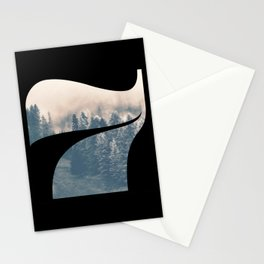 Nr. 7 | Numbers with a View | Typography Letter Art Stationery Cards