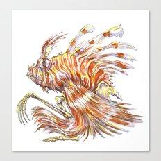 Autumn Fish Canvas Print