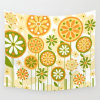 sunshine Wall Tapestries featuring Sunshine by Shelly Bremmer