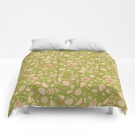 Fungi V1 Vintage Mushroom Pattern Comforters