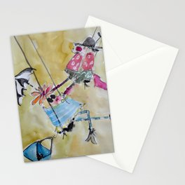 happy swingers Stationery Cards