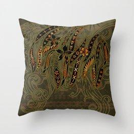 Samoan Malu Mana Motif - Polynesian designs Throw Pillow