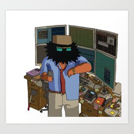 Trader Art Print