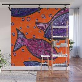 FISH3 Wall Mural