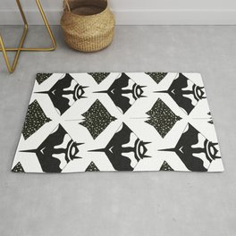mantas and spotted eagle rays Rug
