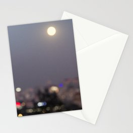 Beijing at Night Stationery Cards