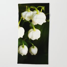 White Bells Beach Towel
