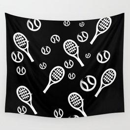 Tennis Tiempo Wall Tapestry