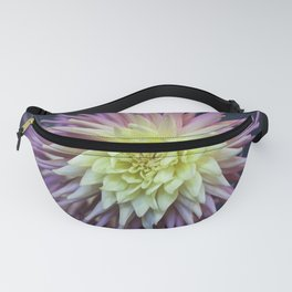 Pink and White Dahlias Fanny Pack