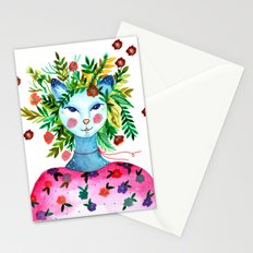 Miss Lady Cat Stationery Cards