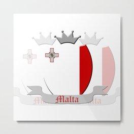 Malta Metal Print