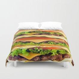 Burger Me! Duvet Cover