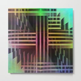 Avantgarde colored Metal Print