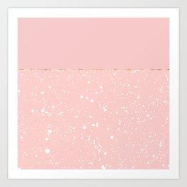 XVI - Rose 3 Art Print