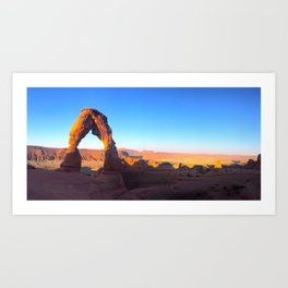 Delicate Arch, Arches National Park, Utah Art Print