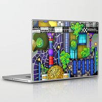 vienna Laptop & iPad Skins featuring Vienna  by Aleksandra Jevtovic
