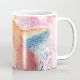 Watercolor Fox in the Forest Coffee Mug