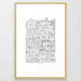 Barcelona, Spain Framed Art Print