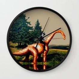 DINO and Sven - Readymade Wall Clock
