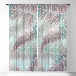 Lost in Paradise Sheer Curtain