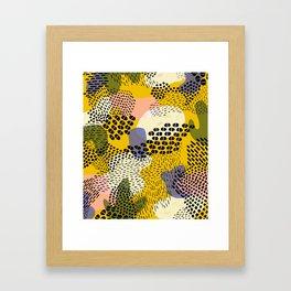 Piña Colada Framed Art Print