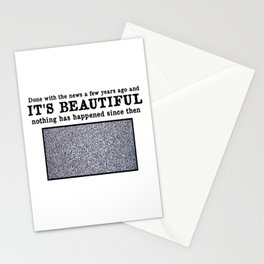 World Without News Stationery Cards