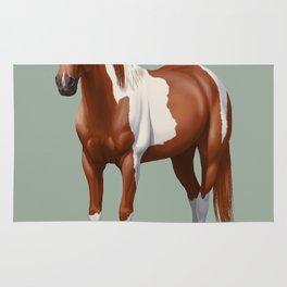 Paint Horse Rugs Society6