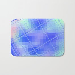 Re-Created Twisted SQ XLIX by Robert S. Lee Bath Mat