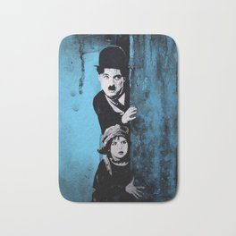 KINO - Chaplin and the kid Bath Mat