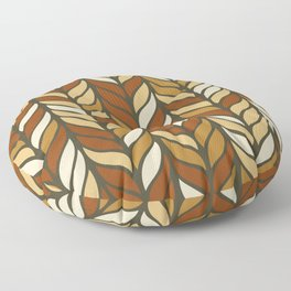 Boho Chic Retro Weave Floor Pillow
