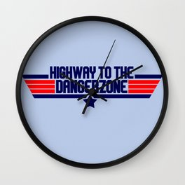 Highway Wall Clock