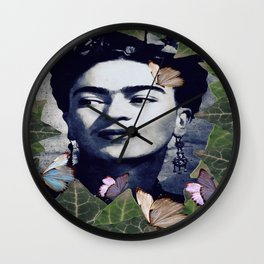 Frida the one Wall Clock