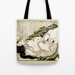 Dream of the Fisherman's Wife - Mad Men Tote Bag