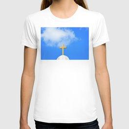 Sunday Morning - Cross Photography by Sharon Cummings T-shirt