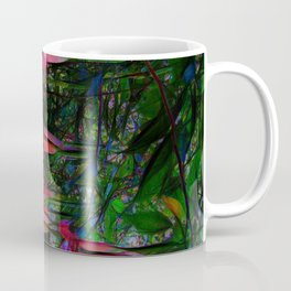Pink Trumpet Flowers Coffee Mug