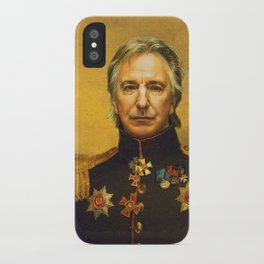 Alan Rickman - replaceface iPhone Case