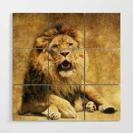 The King Wood Wall Art
