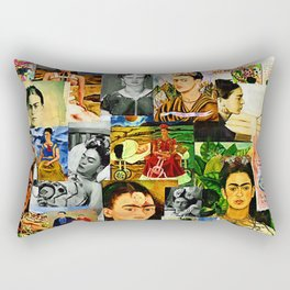 Obsessed with Frida Rectangular Pillow