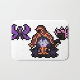 Lulu, The Pixel Sorceress Bath Mat