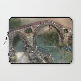 The Roman Bridge, Asturias  Laptop Sleeve