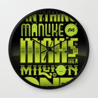 A Million To One Wall Clock