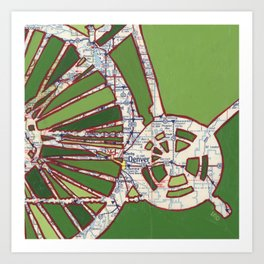 Denver no.1 Art Print