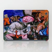 political iPad Cases featuring Political Circus by eVol i